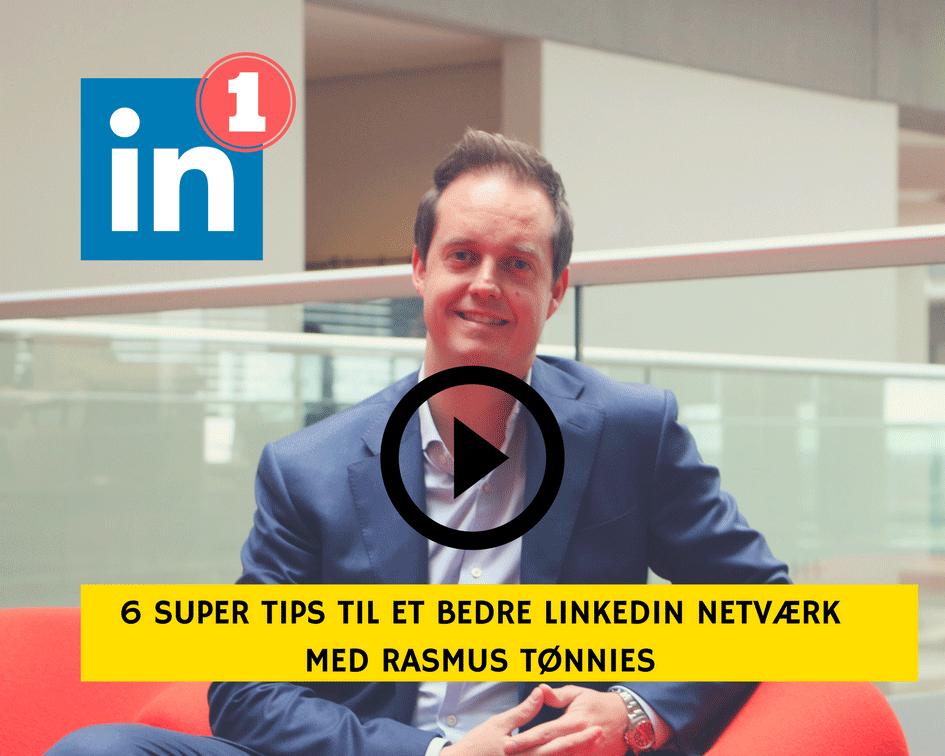 Få et stærkt professionelt netværk på Linkedin