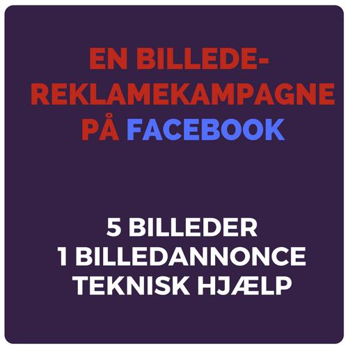 En billede reklamekampagne på Facebook Image