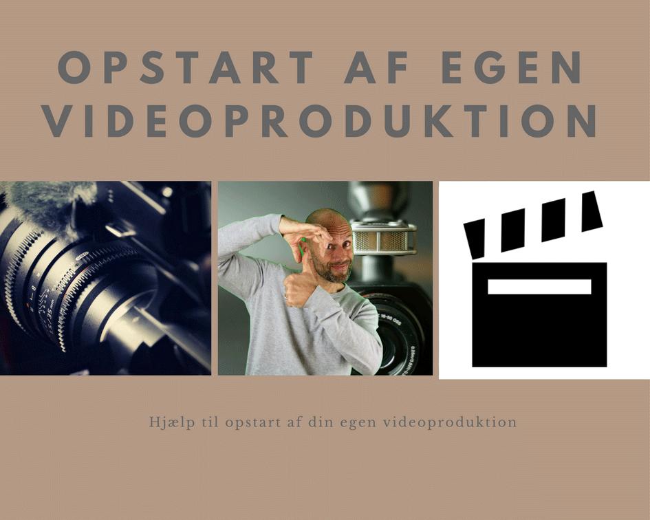 Opstartshjælp af egen videoproduktion Image