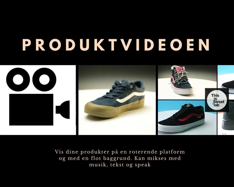 Produktvideoen