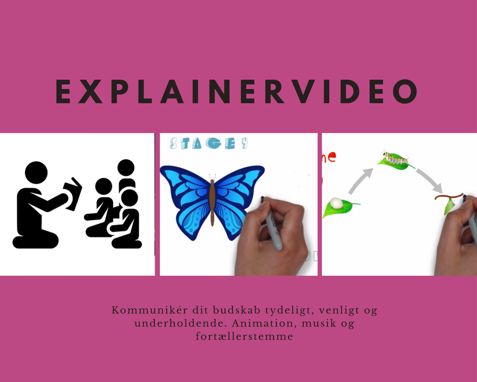 Explainer video, eksempel speeddrawing