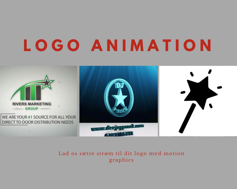 Logo animation eksempel 1