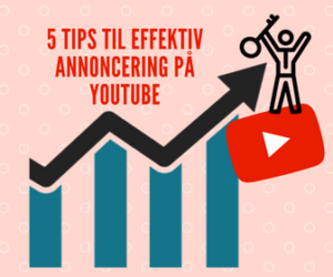 YouTube annoncering videoreklame annoncering