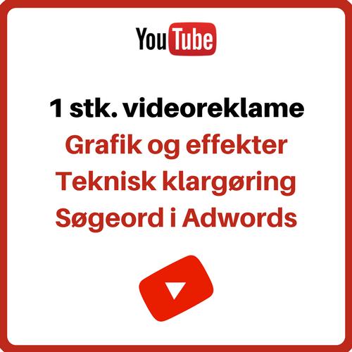 Reklamevideoen der afspilles foran andre videoer Image