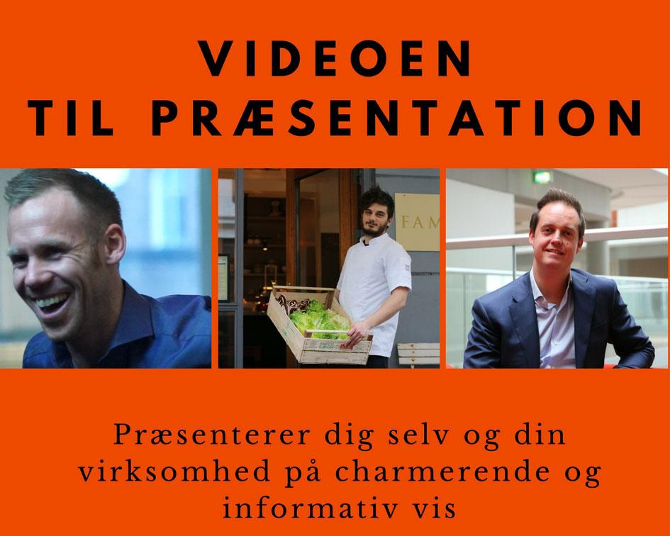 Kort showcase video til præsentation af virksomheden Image