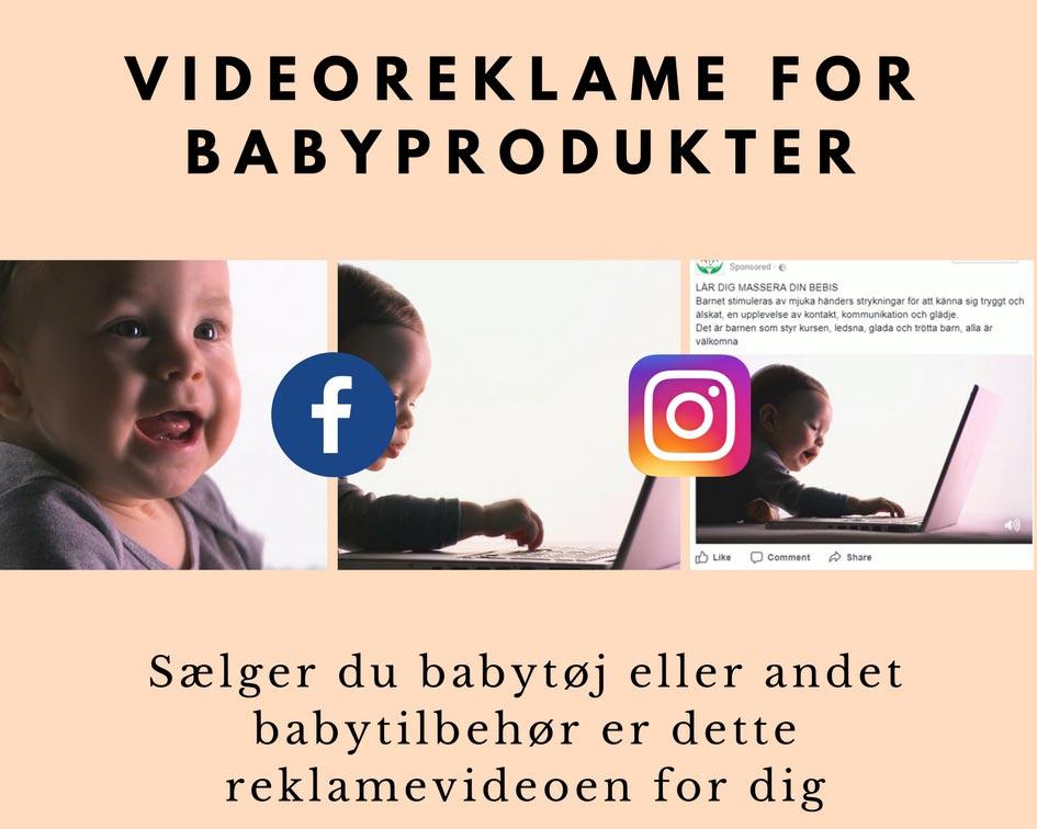 Videoreklame for babyprodukter Image