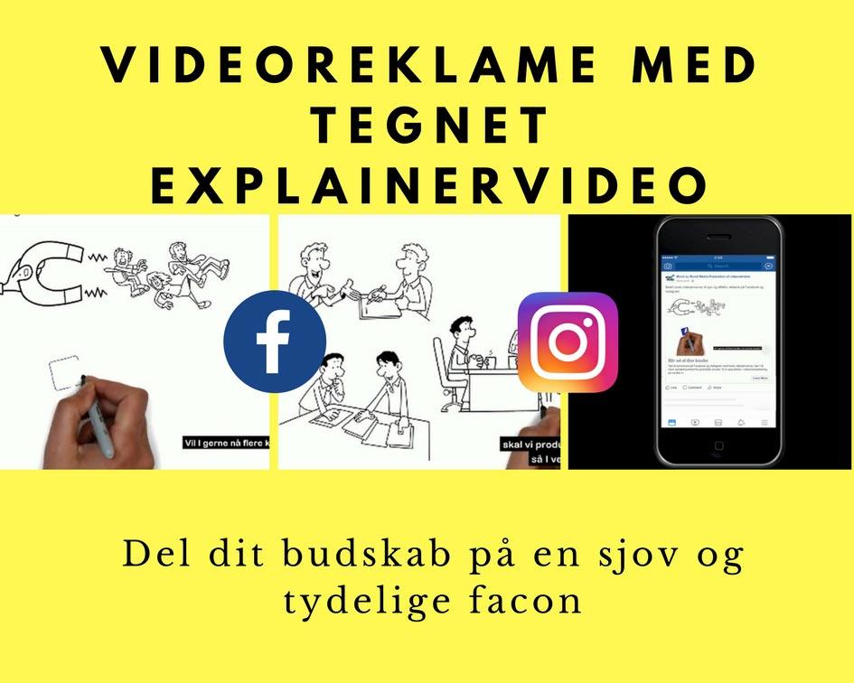 Videoreklame med tegnet explainervideo Image
