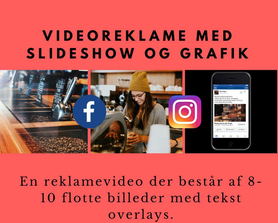 Videoreklame med slideshow Image