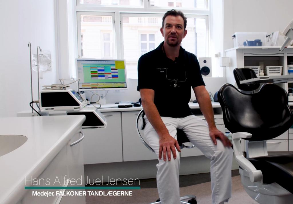 Videoreklame fra Falkoner Tandlægerne