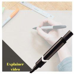 Videoreklame med explainervideo