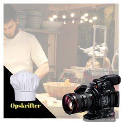 Videoreklame og videoproduktion af mad og opskrifter